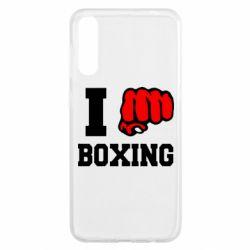 Чохол для Samsung A50 I love boxing