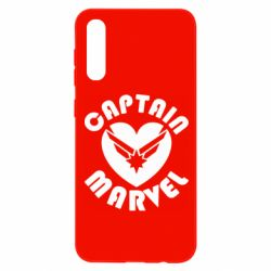 Чохол для Samsung A50 I love Captain Marvel