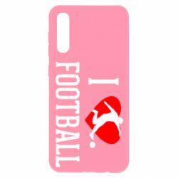 Чохол для Samsung A50 I love football