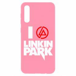 Чохол для Samsung A50 я люблю Linkin Park