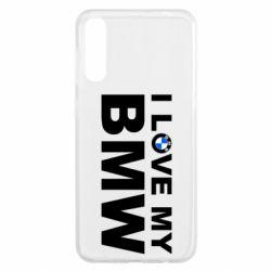 Чохол для Samsung A50 I love my BMW