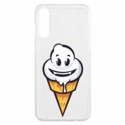 Чохол для Samsung A50 Ice cream graffiti