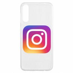 Чохол для Samsung A50 Instagram Logo Gradient