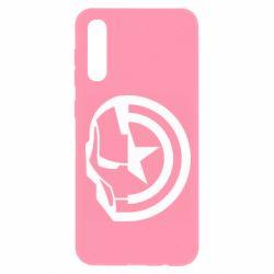 Чохол для Samsung A50 Iron Man and Captain America