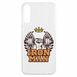 Чохол для Samsung A50 Iron man and sports