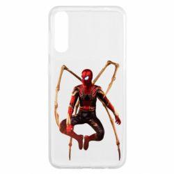Чохол для Samsung A50 Iron man spider