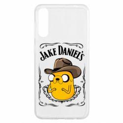 Чохол для Samsung A50 Jack Daniels Adventure Time