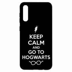 Чохол для Samsung A50 KEEP CALM and GO TO HOGWARTS