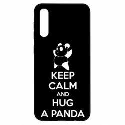 Чохол для Samsung A50 KEEP CALM and HUG A PANDA