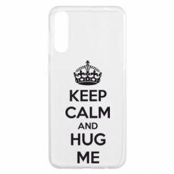 Чохол для Samsung A50 KEEP CALM and HUG ME