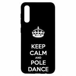 Чохол для Samsung A50 KEEP CALM and pole dance