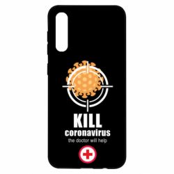 Чехол для Samsung A50 Kill coronavirus the doctor will help