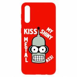 Чохол для Samsung A50 Kiss metal