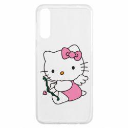 Чохол для Samsung A50 Kitty амурчик