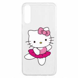 Чехол для Samsung A50 Kitty балярина