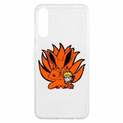 Чохол для Samsung A50 Kurama And Naruto