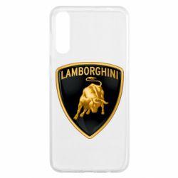 Чохол для Samsung A50 Lamborghini Logo