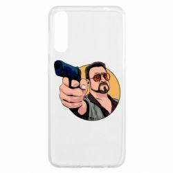 Чохол для Samsung A50 Лебовськи з пістолетом