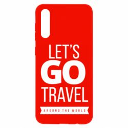 Чохол для Samsung A50 Let's go travel around the world