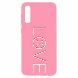 Чохол для Samsung A50 lil peep: love