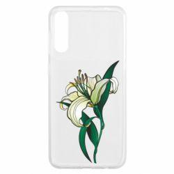 Чохол для Samsung A50 Lily flower