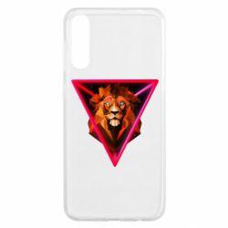 Чохол для Samsung A50 Lion art
