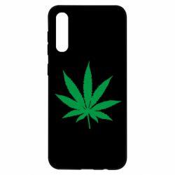 Чохол для Samsung A50 Листочок марихуани