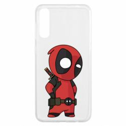 Чохол для Samsung A50 Little Deadpool
