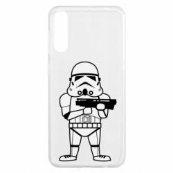 Чохол для Samsung A50 Little Stormtrooper