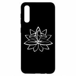 Чохол для Samsung A50 Lotus yoga