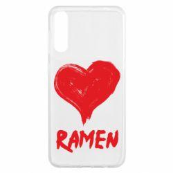 Чохол для Samsung A50 Love ramen
