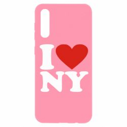 Чохол для Samsung A50 Люблю Нью Йорк