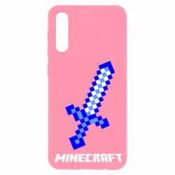 Чохол для Samsung A50 Меч Minecraft
