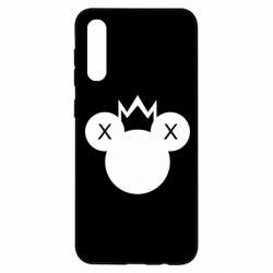 Чохол для Samsung A50 Mickey with a crown