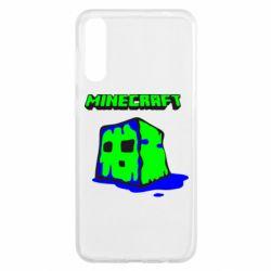Чохол для Samsung A50 Minecraft Head