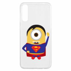 Чохол для Samsung A50 Minion Superman