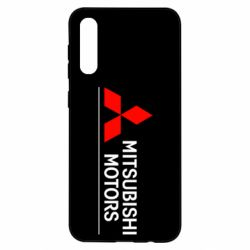 Чехол для Samsung A50 Mitsubishi Motors лого