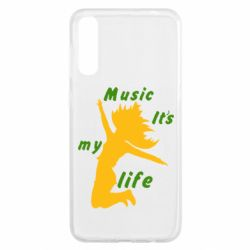 Чохол для Samsung A50 Music it's my life