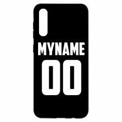 Чохол для Samsung A50 My name American