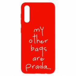 Чохол для Samsung A50 My other bags are prada