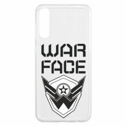 Чохол для Samsung A50 Напис Warface