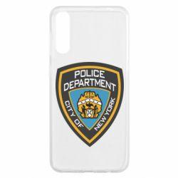 Чохол для Samsung A50 New York Police Department