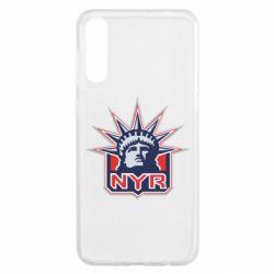 Чохол для Samsung A50 New York Rangers