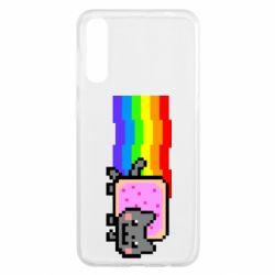 Чохол для Samsung A50 Nyan cat