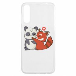 Чохол для Samsung A50 Panda and fire panda