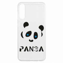 Чохол для Samsung A50 Panda blue eyes