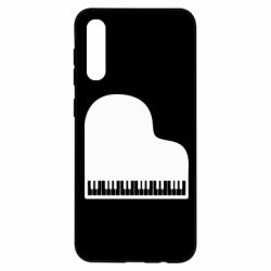 Чохол для Samsung A50 Piano in the heart