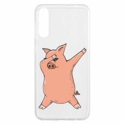 Чохол для Samsung A50 Pig dab