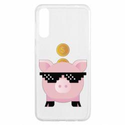 Чохол для Samsung A50 Piggy bank