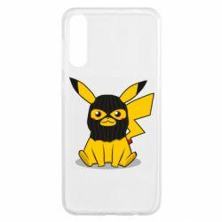 Чохол для Samsung A50 Pikachu in balaclava